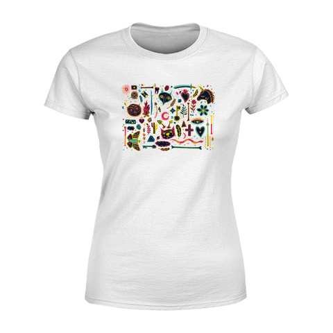 Boho Mosaic - Ladies Crew Neck