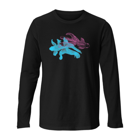 Blue & Pink - Unisex Long Sleeve