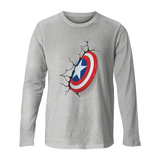 Captain America - Long Sleeve Unisex