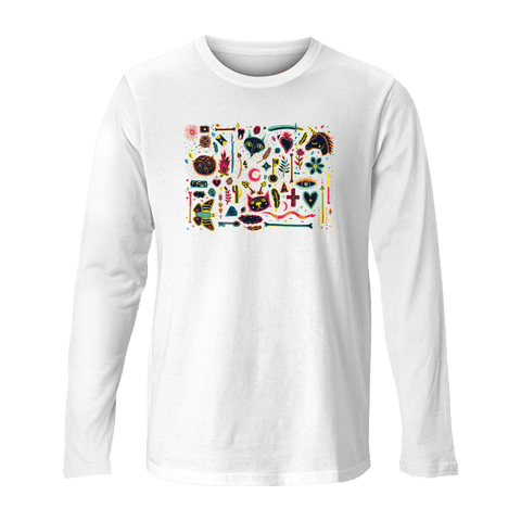 Boho Mosaic - Unisex Long Sleeve