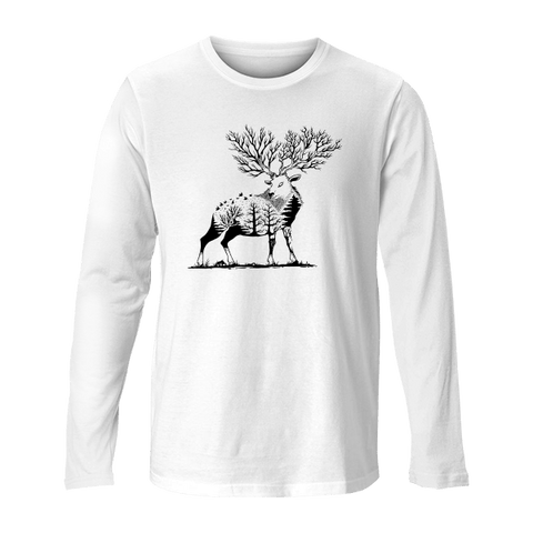 Forest Deer - Unisex Long Sleeve
