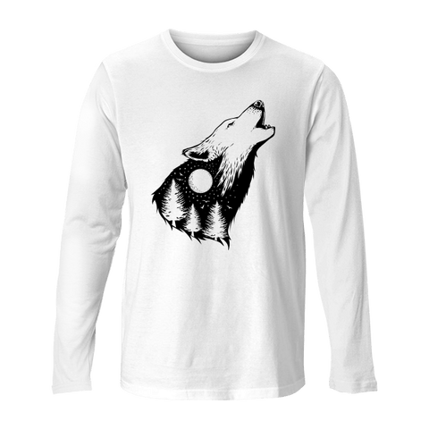 Forest Wolf - Unisex Long Sleeve