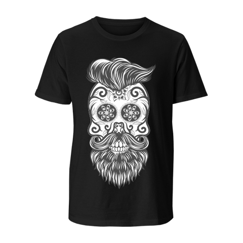 Hippie Skull - Gents Crew Neck