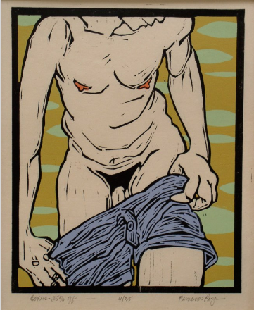 "Fernando reyes artwork nude bodies ""Boxers 25% Off"""