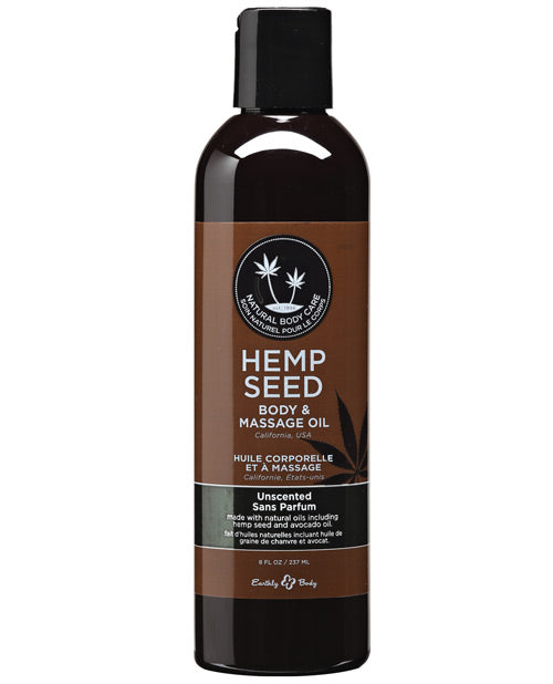 Hemp Seed Oil- 8 oz Unscented - Feelmore Adult Gallery
