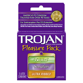 Trojan Pleasure Pack - 3pk