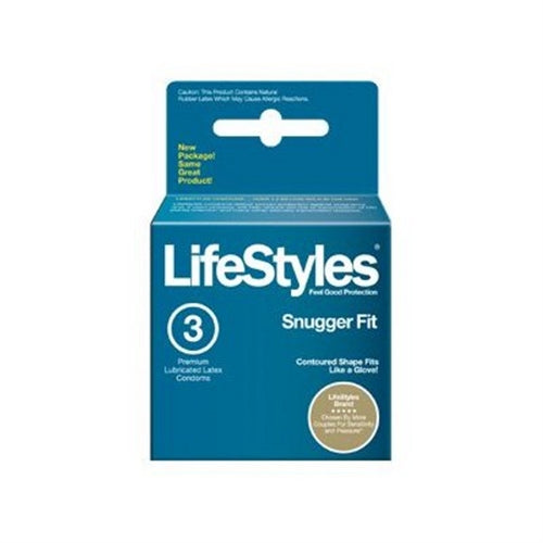 Lifestyles Snugger Fit - 3pk