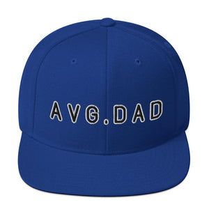 Average Dad Snapback Hat Geeks Unleashed