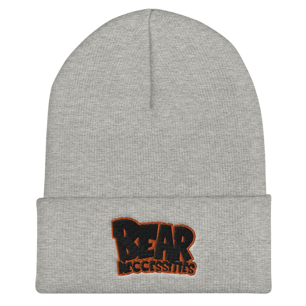 Bear Neccessities Cuffed Beanie Geeks Unleashed