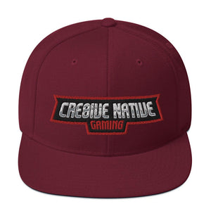 Cre8ive Native Snapback Hat Geeks Unleashed