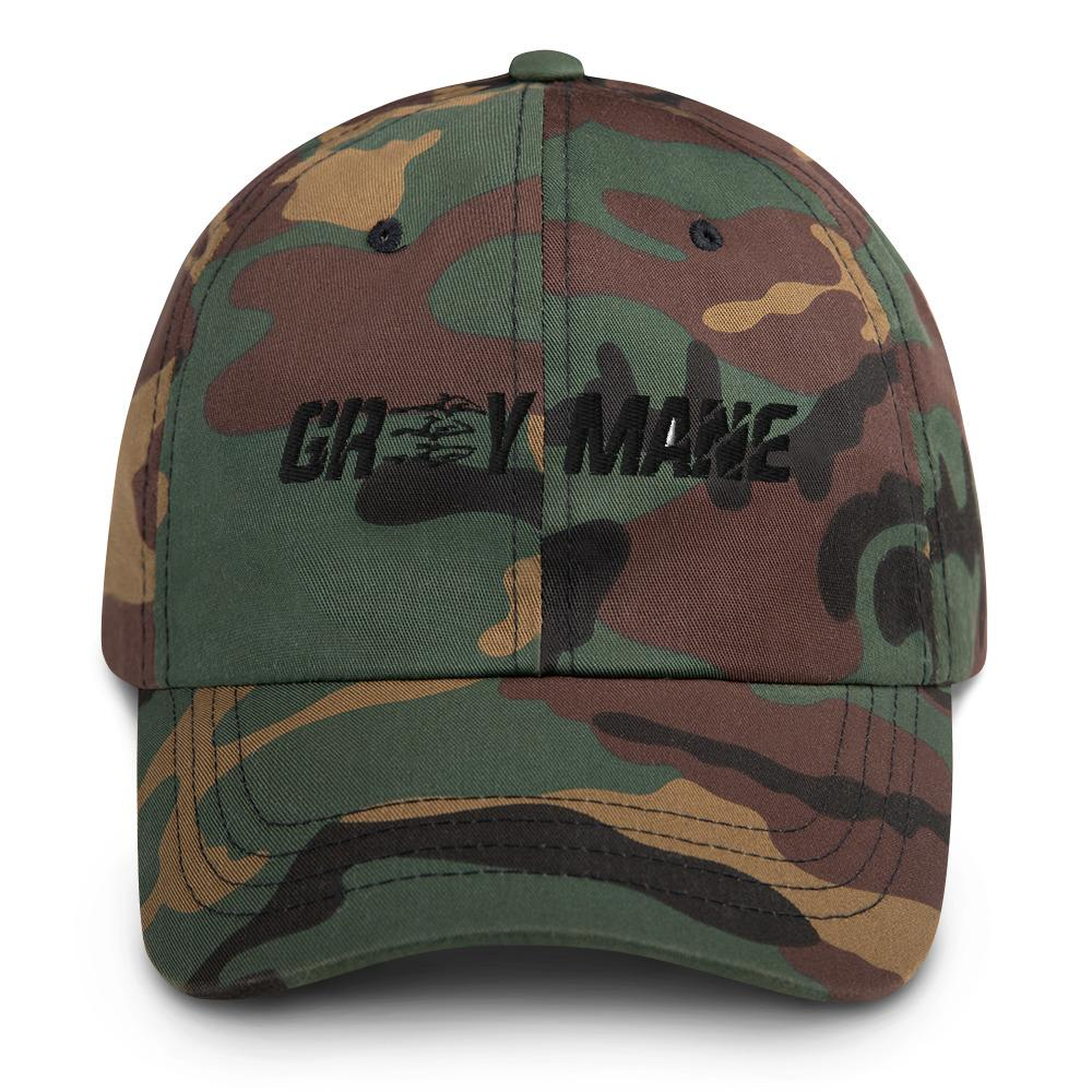 Grey Mane Dad Hat Geeks Unleashed