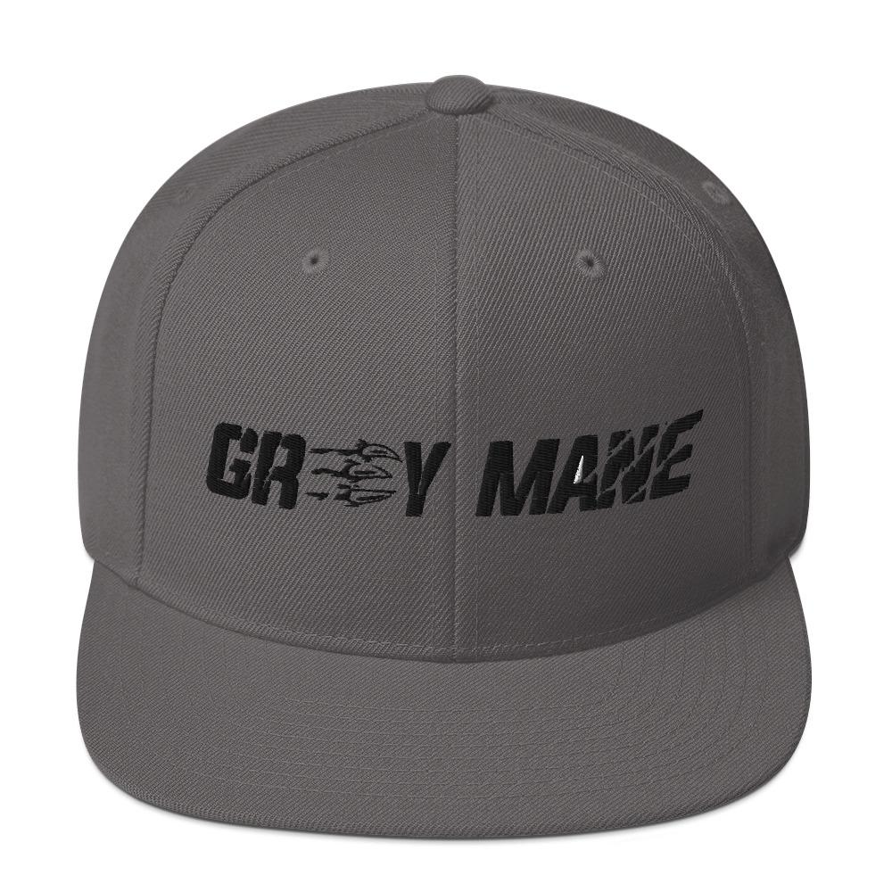 Grey Mane Snapback Hat Geeks Unleashed