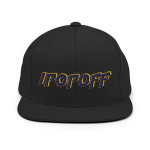 IPopOff Snapback Hat Geeks Unleashed