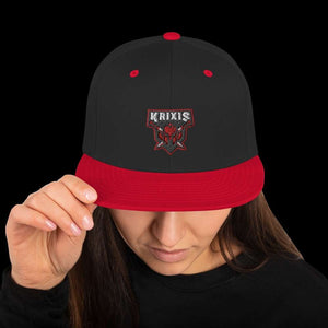 Krixis Red Snapback Geeks Unleashed