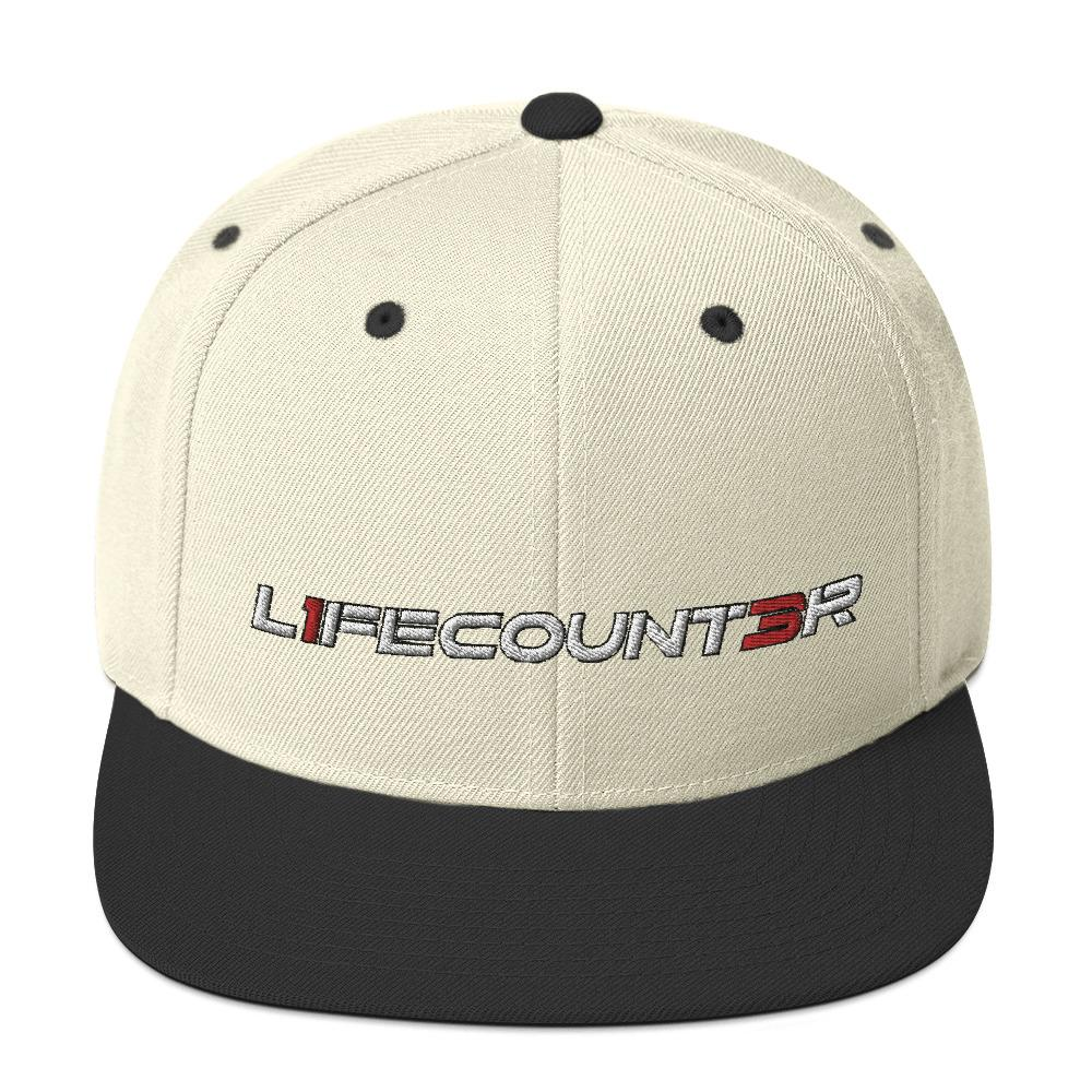 L1fe Count3r Snapback Hat Geeks Unleashed