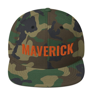 Maverick's Snapback Hat Geeks Unleashed