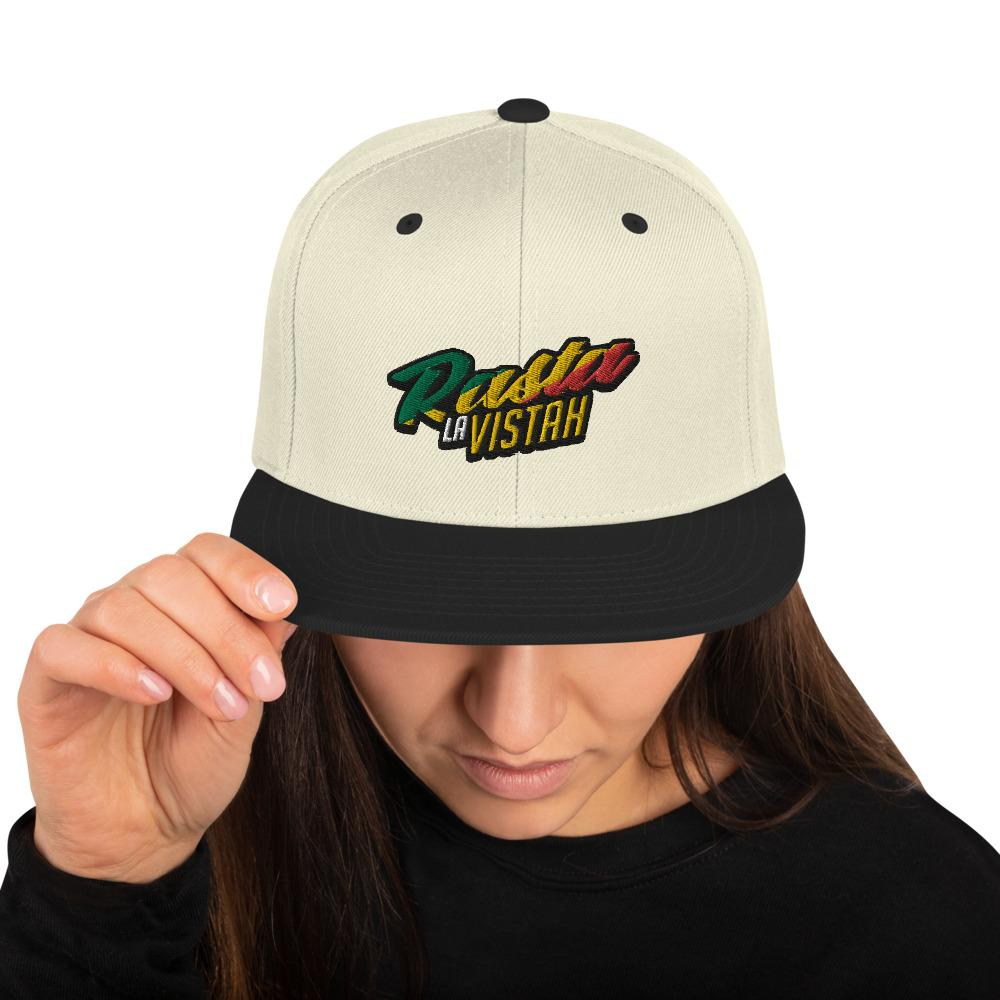 Rasta La Vista Snapback Hat Geeks Unleashed
