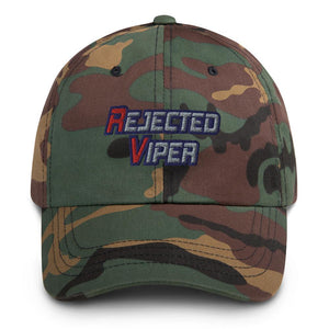 Rejected Viper Dad Hat Geeks Unleashed