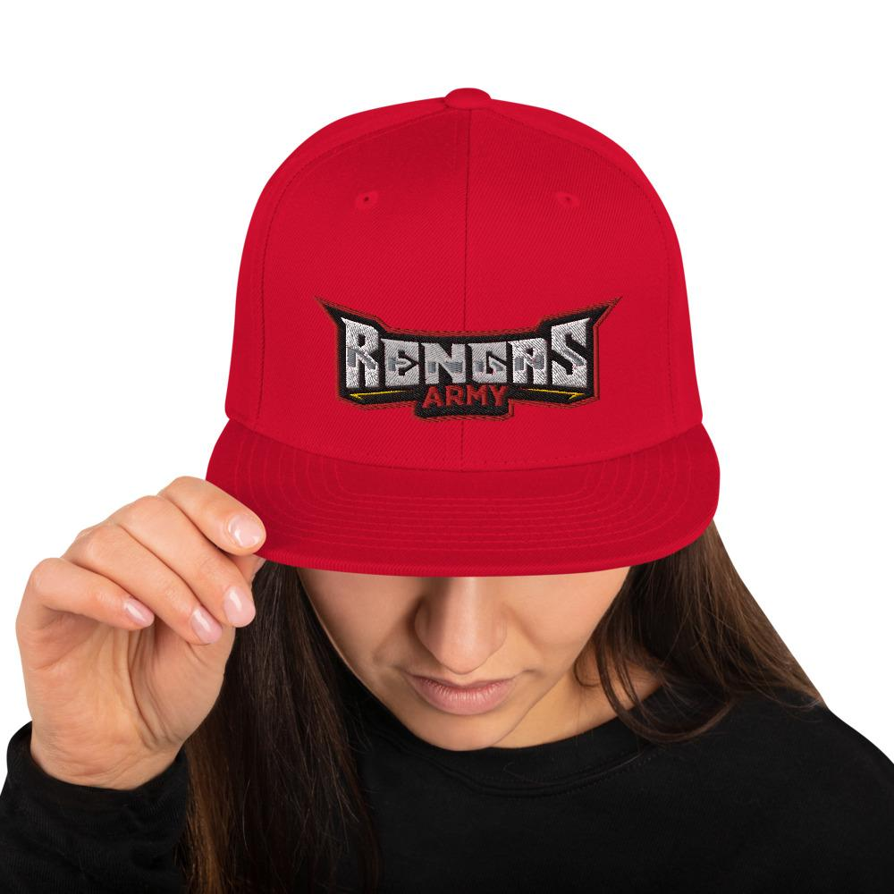 Rengas Army Snapback Hat Geeks Unleashed