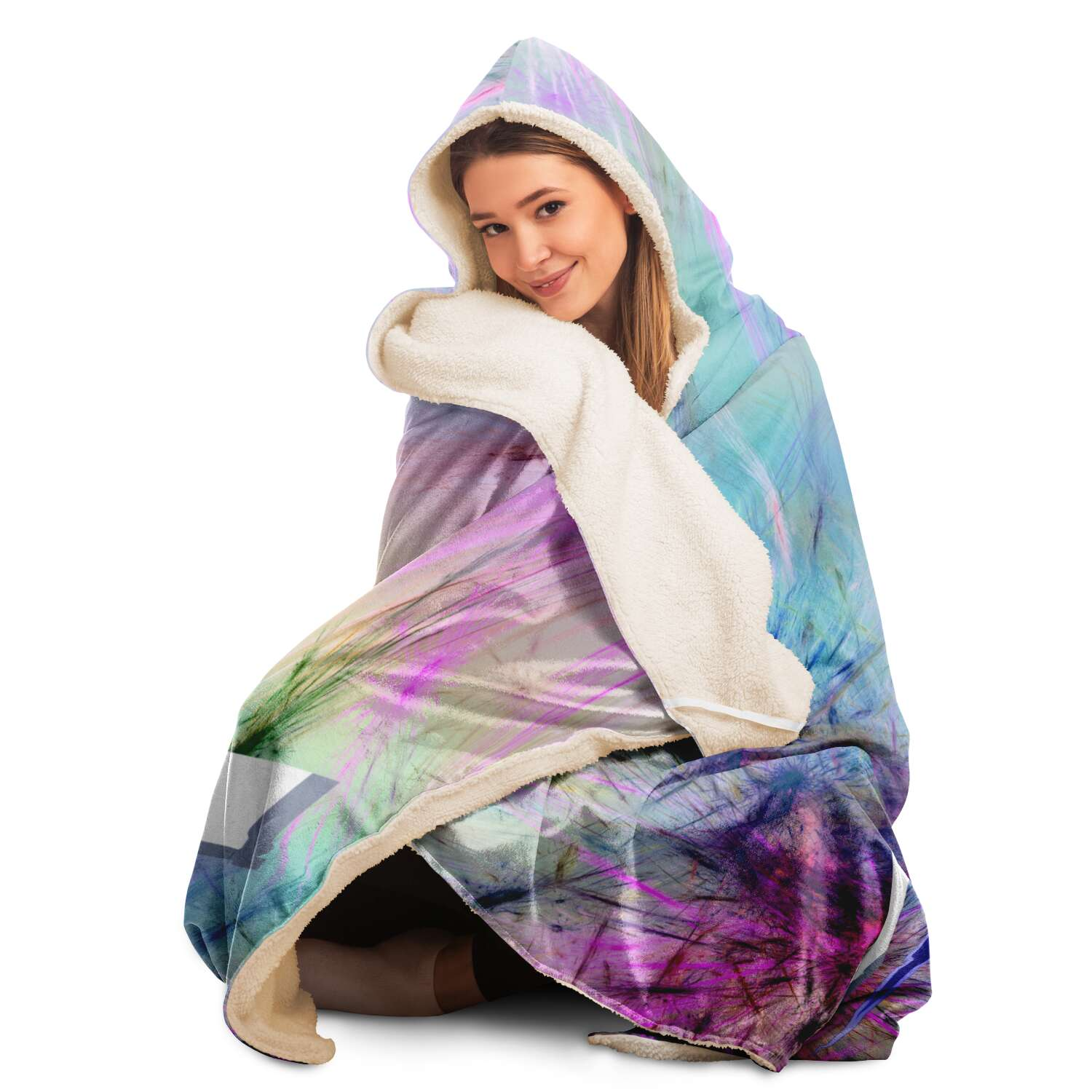 Rlistic Hooded Blanket Subliminator