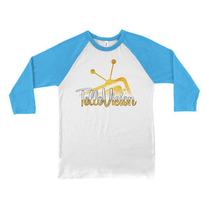 TelleVision Baseball Tee Geeks Unleashed