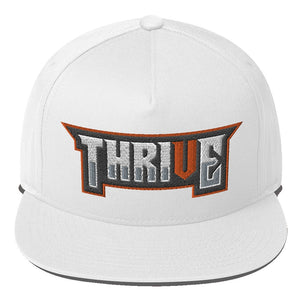 Thrive Flat Bill Cap Geeks Unleashed