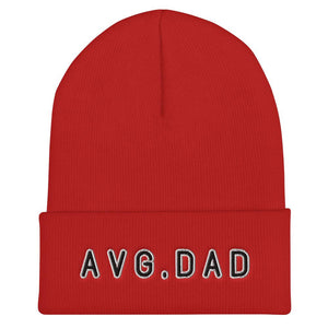 Average Dad Cuffed Beanie - Geeks Unleashed