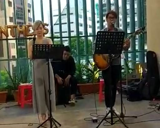 Entertainers Singapore for ST engineering event 2018 | ST Engineering Event Live Band @ Tai Seng