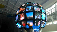 Globe Spherical LED Wall