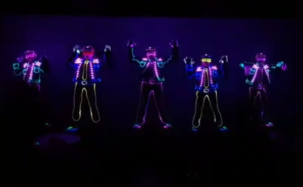 Multi Colour LED Tron Dance