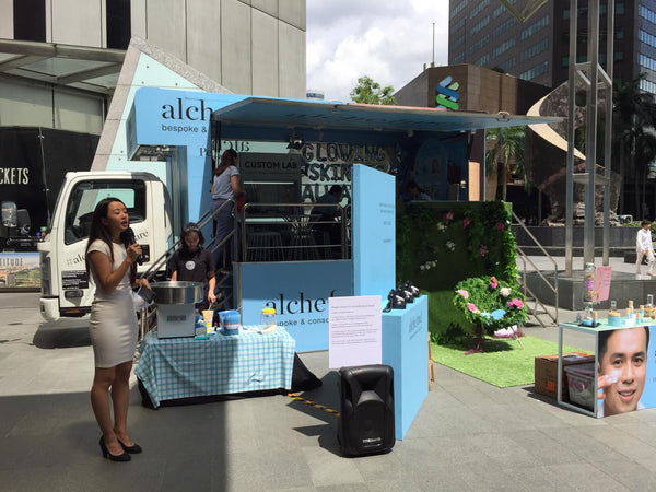 Roving Mobile Truck for Alche{me} @ Islandwide Town