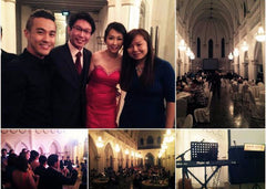 Caroline & Willie's Wedding @ CHIJMES