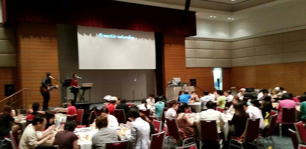 SPH's Annual Division Dinner @ Singapore Press Holdings Auditorium