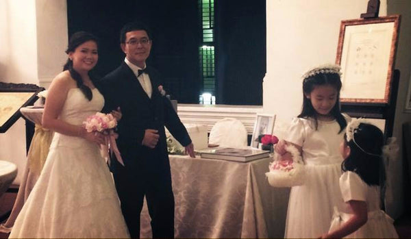 Rosa's Wedding Reception @ Raffles Hotel Singapore