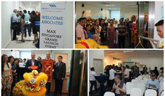 Max International Company Launch @ AZ Paya Lebar Sales Office