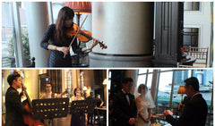 Wedding of Chris & Mari @ The Fullerton Bay Hotel Singapore Singapore