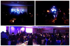 LED Tron Dancers @ Grand Hyatt Singapore