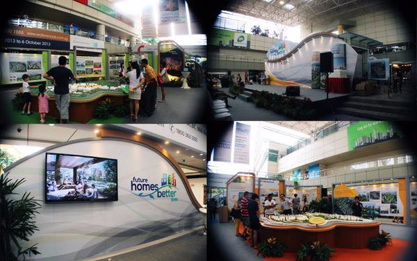 HDB Future Homes Better Lives event @ Toa Payoh Hub