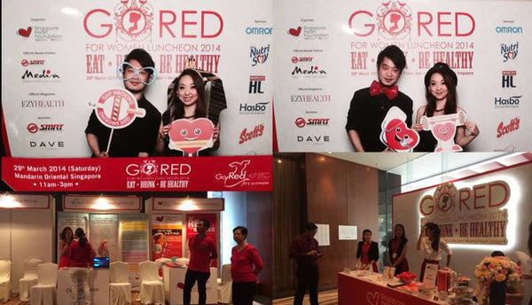 Go Red Government Health Event with Minister GOH @ Mandarin Oriental