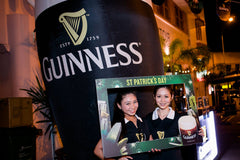 Guinness St Patrick Activation Campaign @ Holland V, Clarke Quay, Club Street, Boat Quay