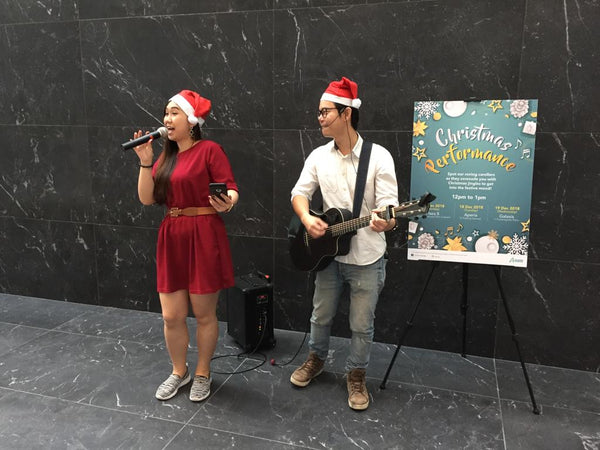 Ascendas Malls Christmas Caroling Cheer | Ascendas Malls Christmas Caroling Cheer