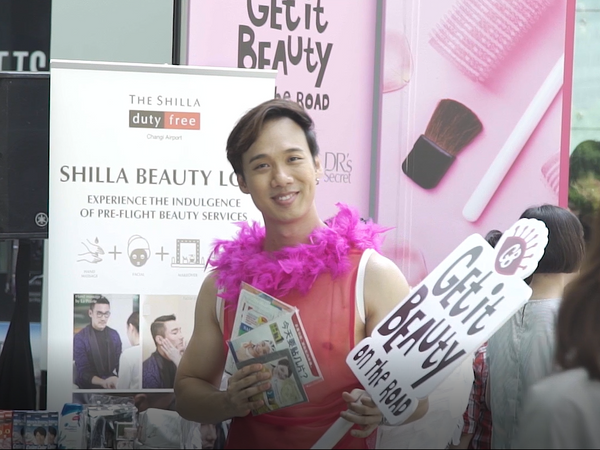 Starhub Get It Beauty Roadshow @ Raffles Place