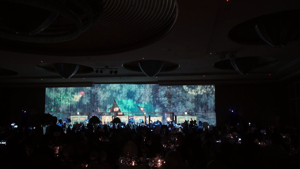 Wedding Immersive 3D Mapping Luxury @ Ritz Carlton