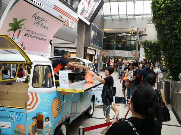Experience SPH Rewards Roving Mobile Food Truck