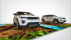 Land Rover Trickeye Floor Mural @ Leng Kee Showroom