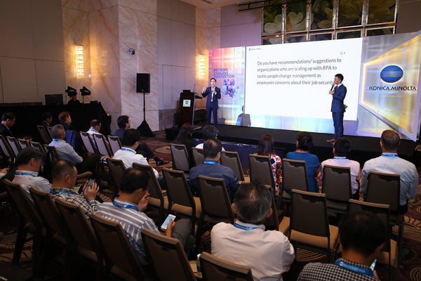 Konica Minolta KM Connect Conference 2019 @ Westin Singapore | Konica Minolta KM Connect Conference 2019 @ Westin Singapore