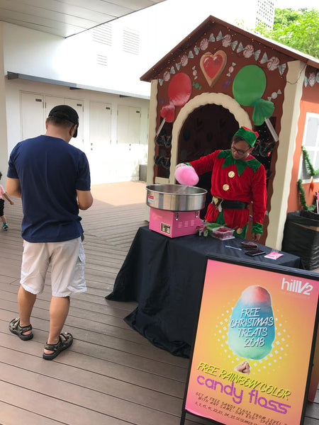 Far East Malls Christmas Activation 2018 @ HillV2
