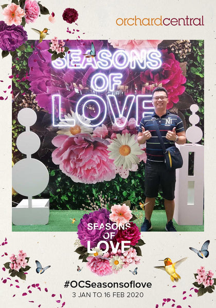 Orchard Central Seasons of Love Campaign 2020 @ OC