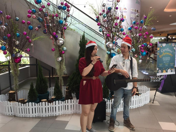Ascendas Malls Christmas Caroling Cheer