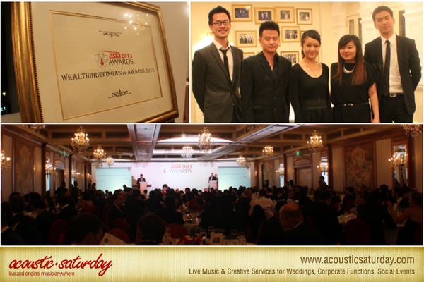 WealthBriefingAsia Private Banking Prestigious Awards Ceremony @ Raffles Hotel